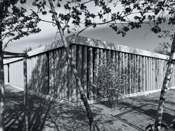 Besucherzentrum der KZ-Gedenkstätte Dachau