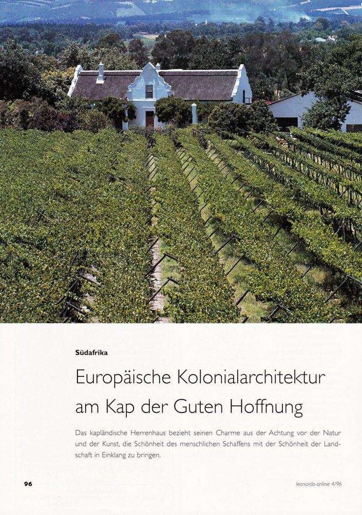 Leonardo Kap-Holländische-Architektur