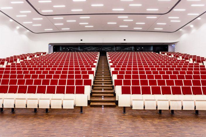 Uni Leipzig, Hauptgebäude am Augustusplatz. Audimax