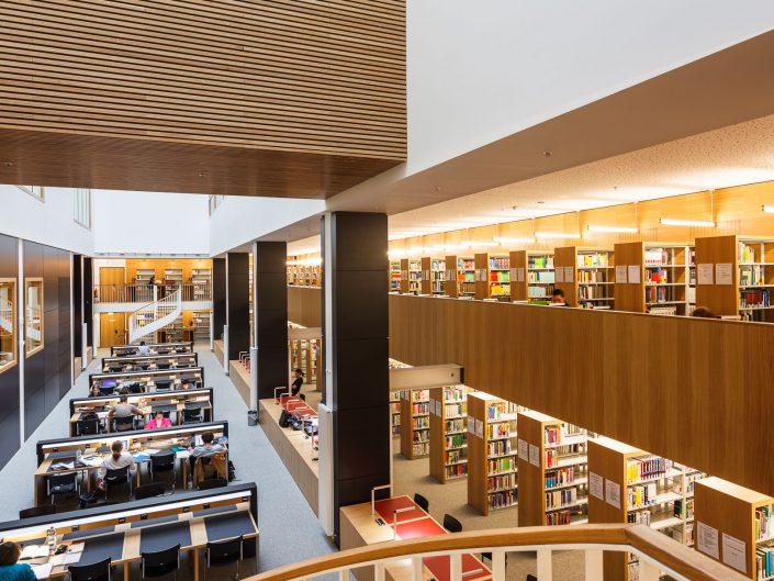 Uni Leipzig, Hauptgebäude am Augustusplatz. Bibliothek