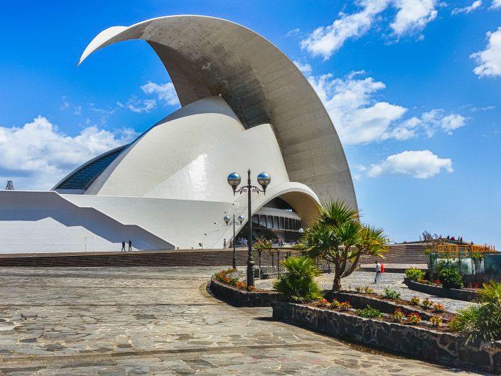 Adan-Martin-Auditorium, Santa Cruz de Tenerife, Teneriffa