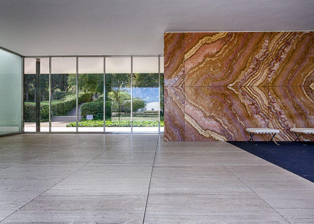 Barcelona Pavillon, Mies van der Rohe