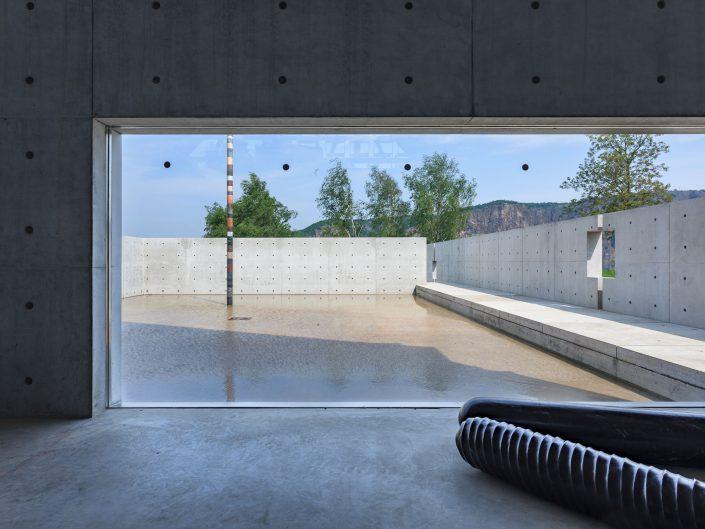 Steinskulpturenmuseum Bad Münster. Architekt: Tadao Ando