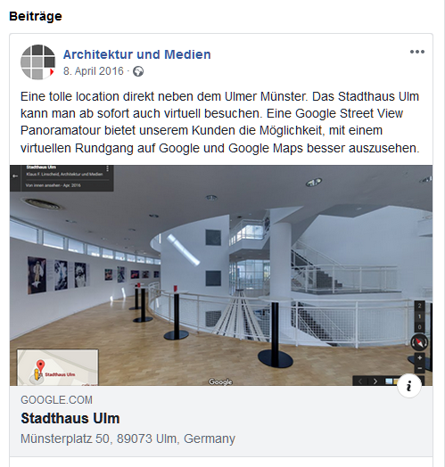 Google-Panoramatour-bei-Facebook-einbinden