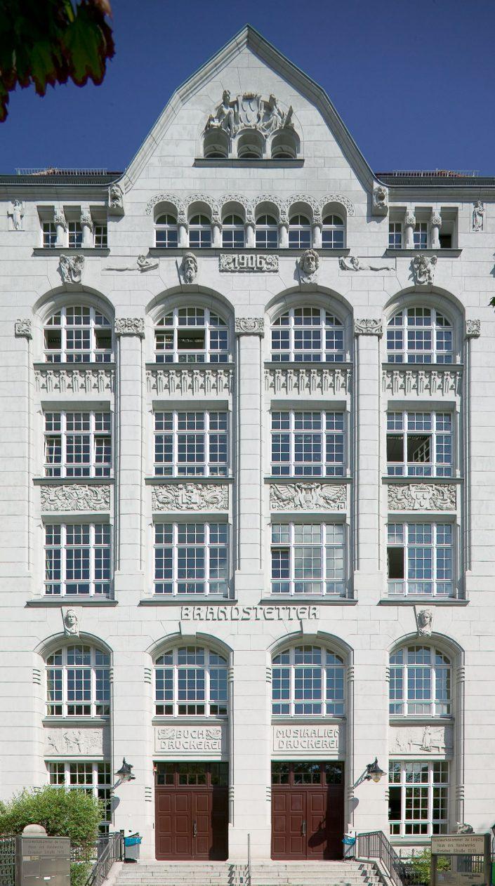 Haus des Handwerks, Fassade