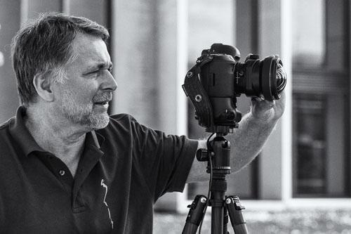 Klaus Linscheid beim Fotografieren