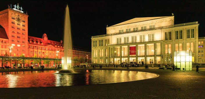 Oper Leipzig, Augustusplatz