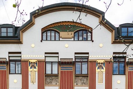 Jugendstilhaus in München-Schwabing