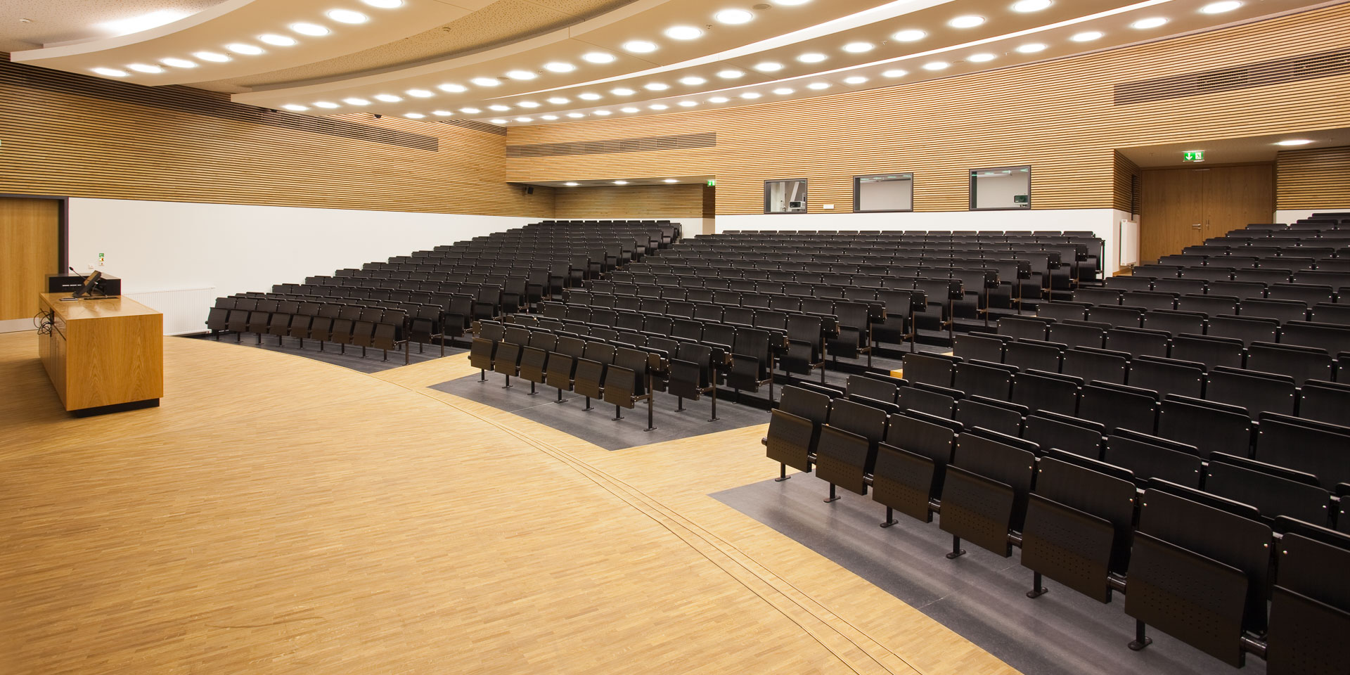 Neubau Universität Leipzig, Hauptgebäude, Großer Hörsaal