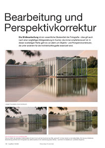 Bildbearbeitung und Perspektivkorrektur